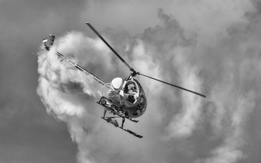 2nd place mono - Helicopter Display by Ed Foy