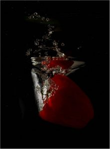 Commended - Red Pepper Splash by Alan Cargill