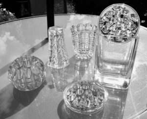 Table Top Glasses by Tim Evans
