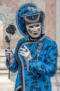 Very Highly Commended - Venice Carnival Figure by Martin Reece ARPS