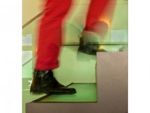 1st Place - Red Trousers by Alan Shufflebotham