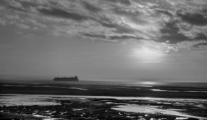 Commended - Sunset Over Crosby Beach by Alan Cargill