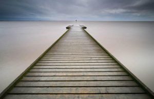 3rd place - The Pier by Simon Rahilly LRPS