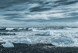 Very Highly Commended - Iceberg beach Cyan Toned by Martin Reece ARPS