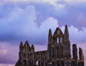Whitby Abbey at Dusk by Amy Ashley-Mather