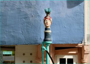 The Petrol Pump, Portmeirion by Tim Evans