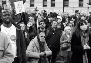 Faces of protest by Barbara Green