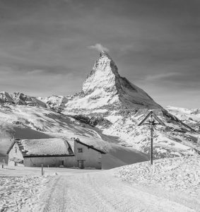 Commended - Matterhorn Landscape by Martin Reece ARPS