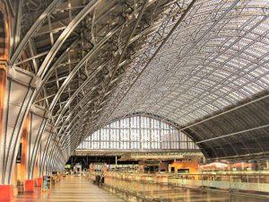 St Pancras Station by Ann Roberts